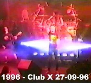1996 - Club X 27-09-96