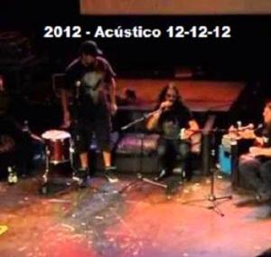2012 - Acústico 12-12-12